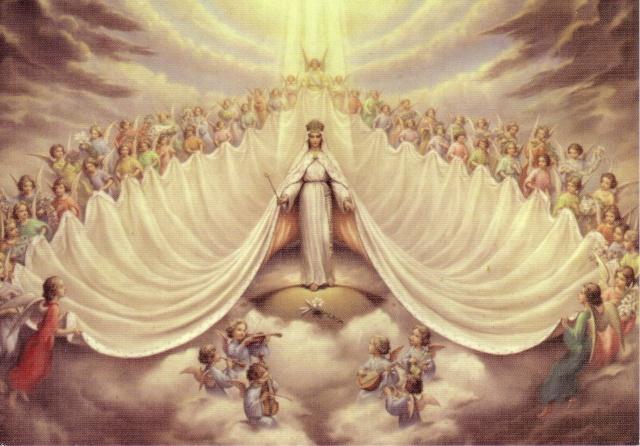 Intronisation de Marie* Reine Immaculée Vierge14