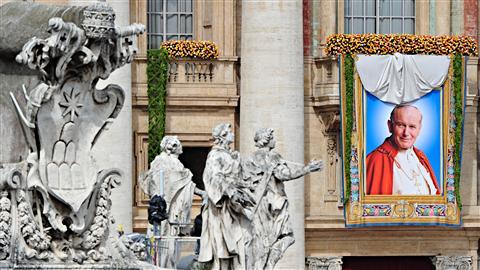 Jean Paul II bienheureux Afp_1110