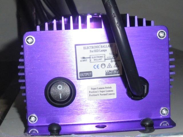 Question: Ballast HQI Electronique Lumatek 400 watts 15octo10