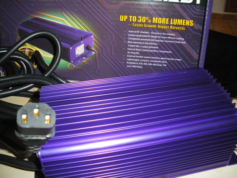 Question: Ballast HQI Electronique Lumatek 400 watts Fiche10