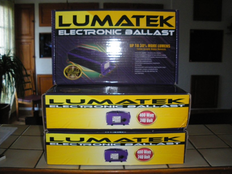 Question: Ballast HQI Electronique Lumatek 400 watts Lumate10