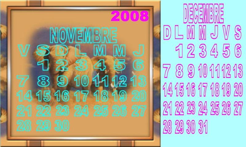 Novembre et décembre 2008 0us3z410