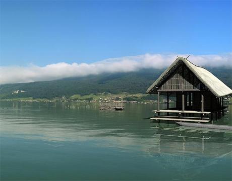 La plus vieille maison de Suisse a plus de cinq mille ans .. Maison10
