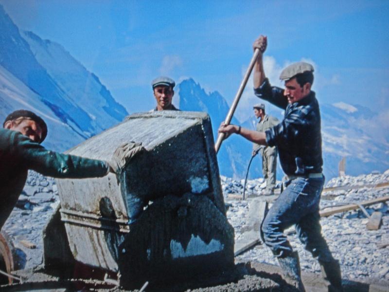 [Tignes] Grande Motte: de la télécabine au funiculaire 4110