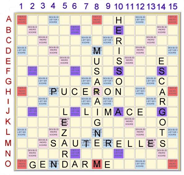 Scrabble 8 : Les petites bêtes du jardin Scrabb33