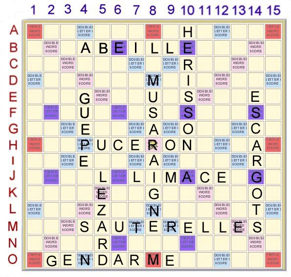 Scrabble 8 : Les petites bêtes du jardin Scrabb34