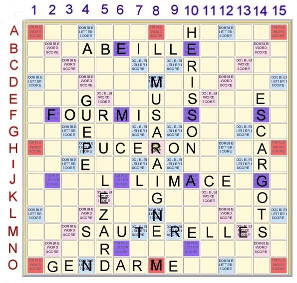 Scrabble 8 : Les petites bêtes du jardin Scrabb35
