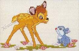 موديلات تطريز ديزنى : موديل بامبي bambi Disney13