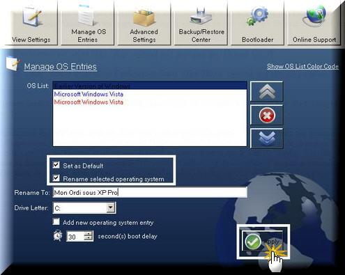 VistaBootPRO 3.1 Vista610