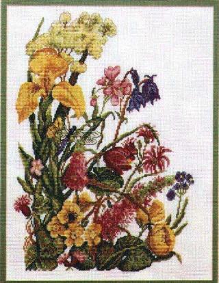 موديلات تطريز الزهور Wildfl11