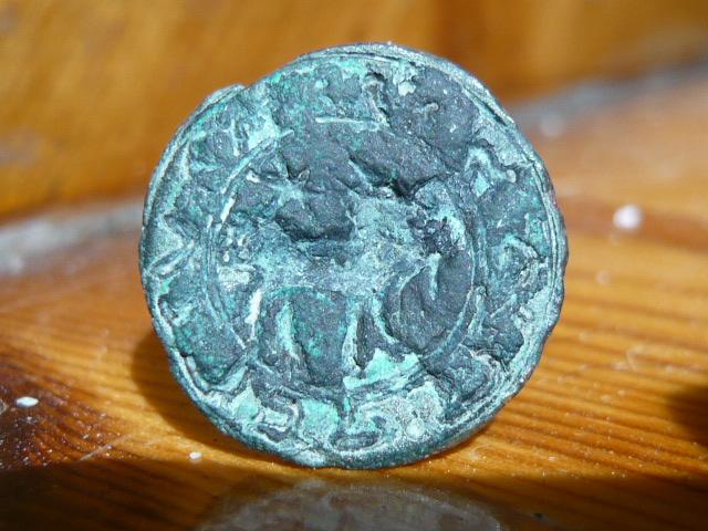 hebreo - Matriz de sello hebrea SHOLOMO KAFRY (Salomón Cabrit?)  P1000810
