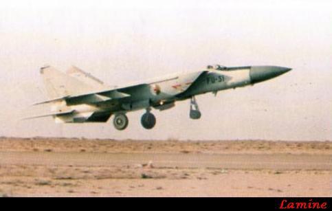 الطائرة المقاتلة (الاستطلاع / الاعتراض) Mig - 25 Mig-2510
