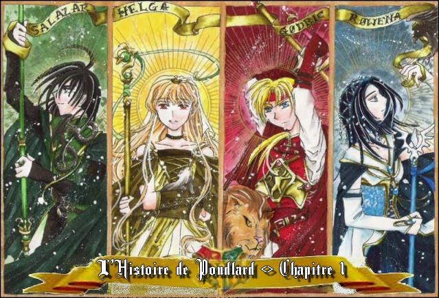 L'HISTOIRE DE POUDLARD - chapitre 1