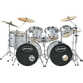 9/25/07 Pulse Double Bass 8-Piece Drum Set 48731712