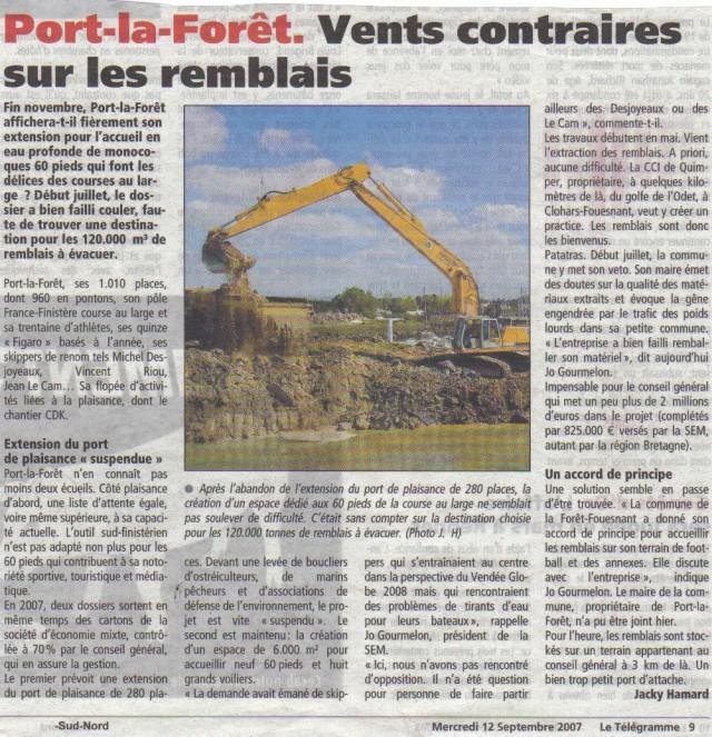 [Vie des ports] PORT LA FORET Lastsc18