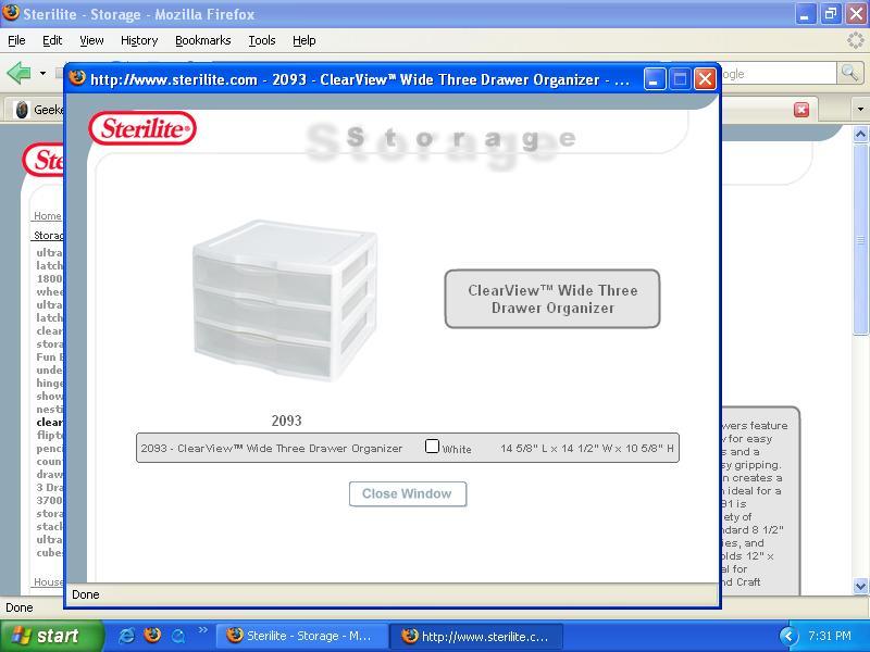 My new storage solution Storag10
