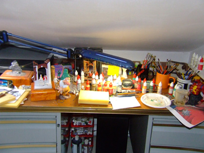 l'atelier de bruno : les peintures. Atelie10