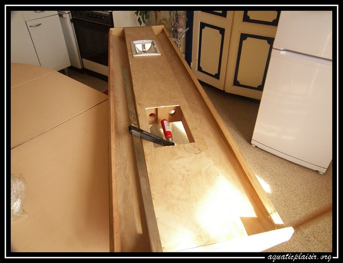 rampe - fabrication de ma rampe d'éclairage HQI 100_7613