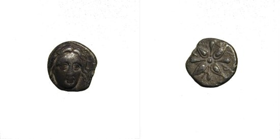 Ikos' Greek coins A011710