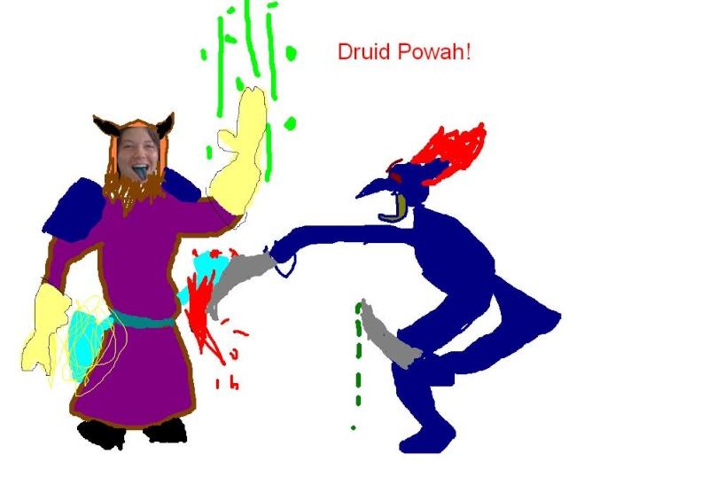 How would you look like as a druid? Dscf6411