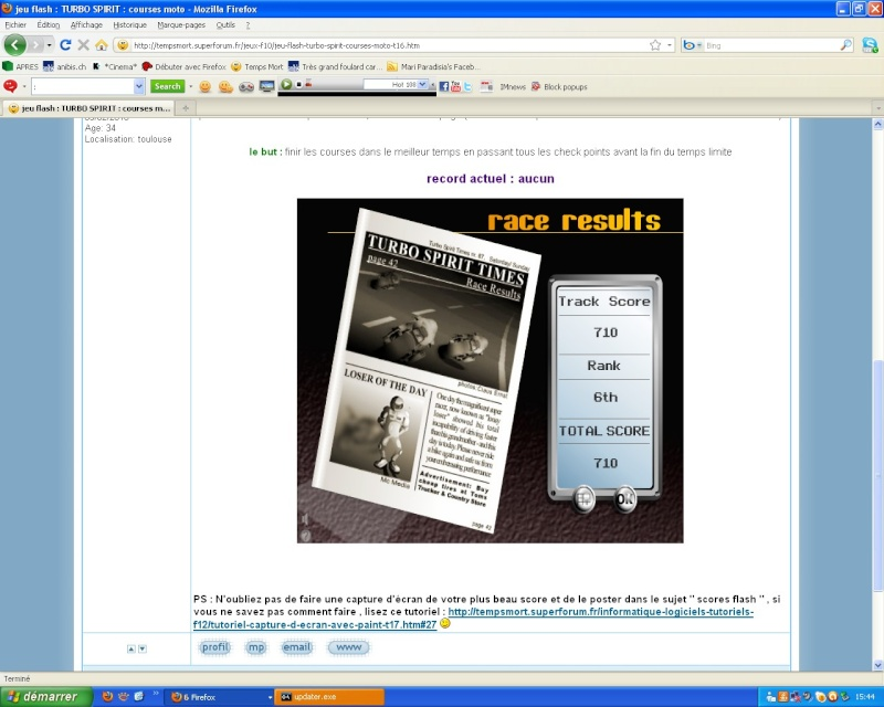scores flash - Page 2 Motos10