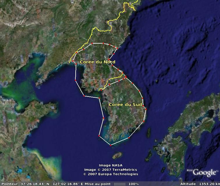 REPONSES du jeu de connaissances géographiques Coree10