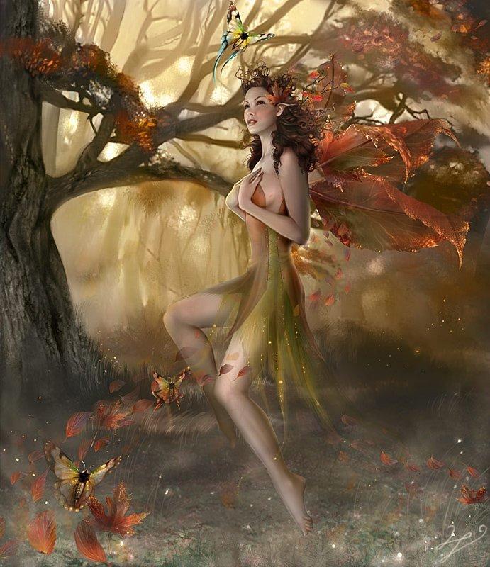Papillons d'automne. Bon3oi10