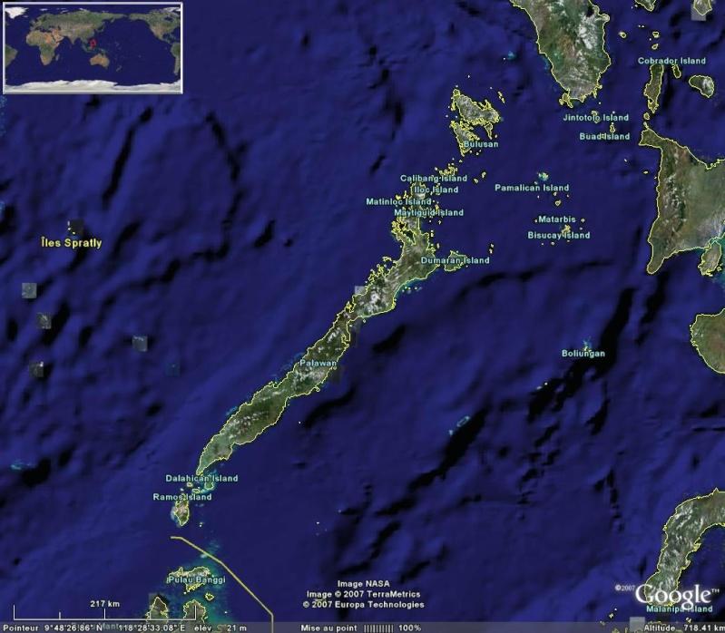 Les différents lieux de tournage de KOH LANTA Palawa10