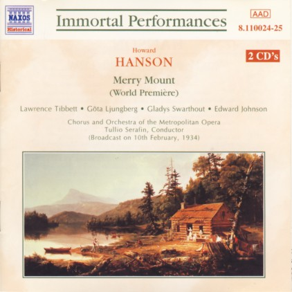 Howard HANSON (1896-1981) Histo10