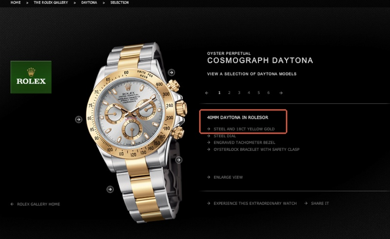 Daytona - rapport prix daytona et piece detachees Roleso10