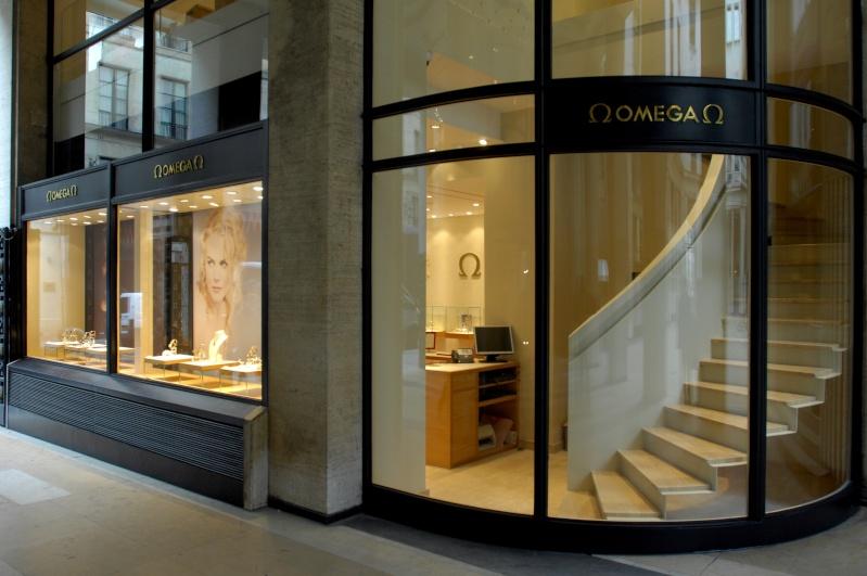 La nouvelle boutique OMEGA de Paris Boutiq10