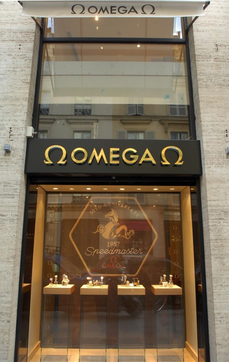 La nouvelle boutique OMEGA de Paris Boutiq11