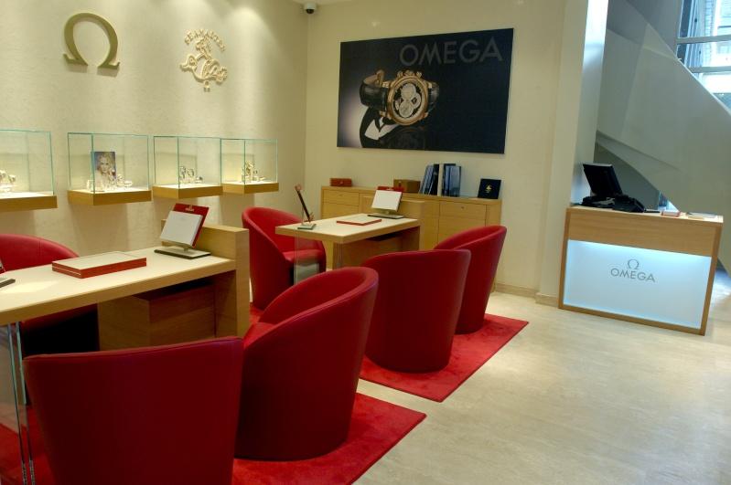 La nouvelle boutique OMEGA de Paris Ome10