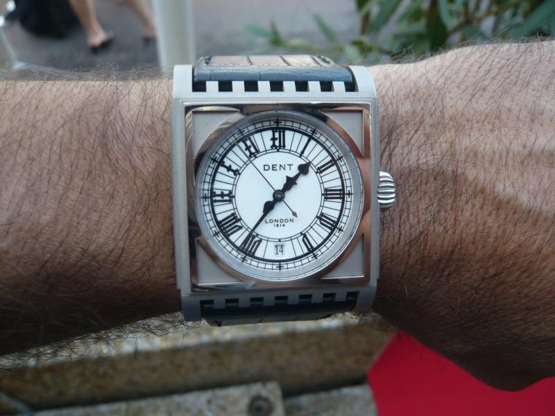 DENT : pour le coup, une vraie horloge au poignet ! P1000417