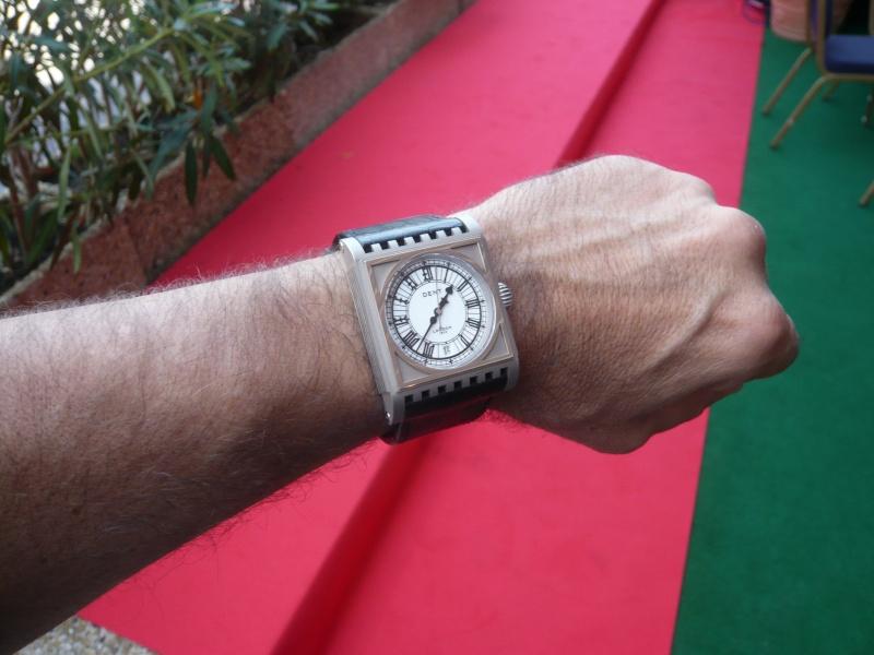 DENT : pour le coup, une vraie horloge au poignet ! P1000418