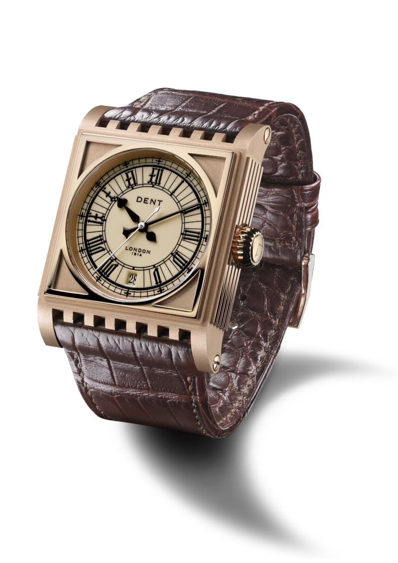 DENT : pour le coup, une vraie horloge au poignet ! Parlia10