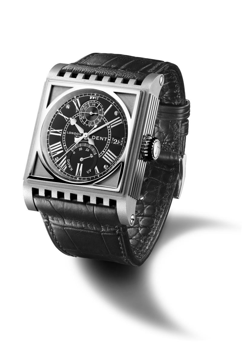 DENT : pour le coup, une vraie horloge au poignet ! Parlia11