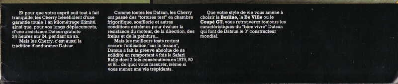 Topic officiel des DATSUN CHERRY N10 MKI ET MKII Cherry13