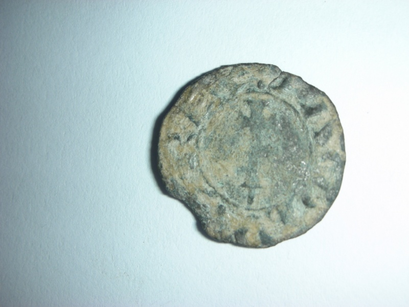 Dinero de Jaime I (Aragon, 1208–1276 d.C) Dscn0713