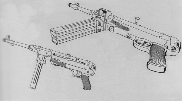 Maschinenpistole 40 Mp40-210