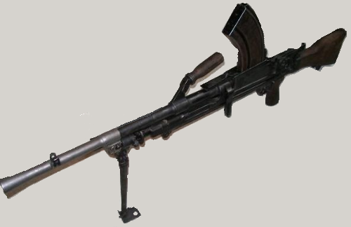 Fusil Mitrailleur BREN Projet10