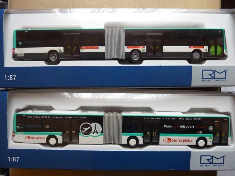 Nouveautés Modèles Réduits Lion's City G et GL - RATP P1010310