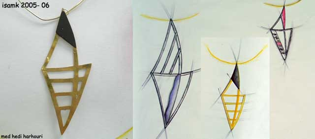 أعمال طلبة السنة الثانية تصميم المصوغ 2005-2006 (isamk) Bij_7815
