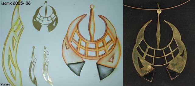 أعمال طلبة السنة الثانية تصميم المصوغ 2005-2006 (isamk) Bij_7819