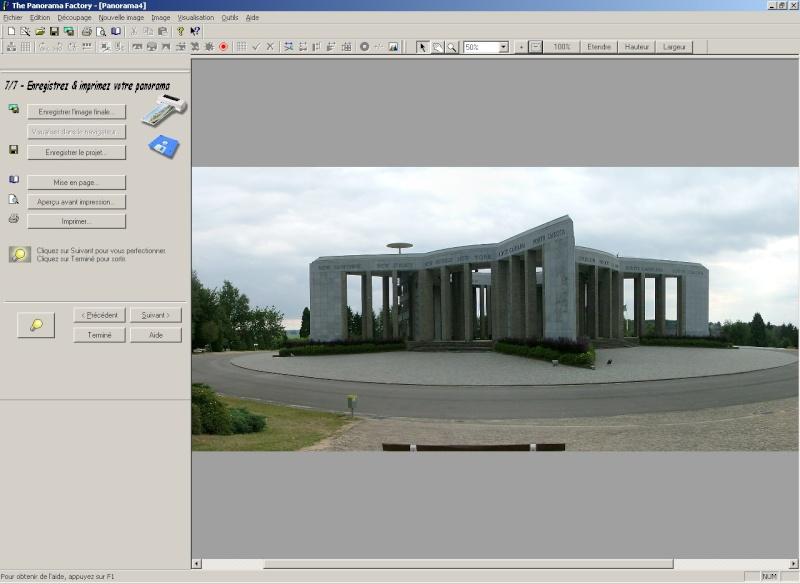 Créer un panorama avec Panorama Factory 110