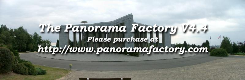 Créer un panorama avec Panorama Factory 210