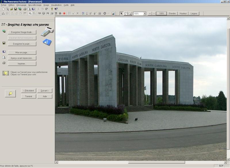 Créer un panorama avec Panorama Factory 310