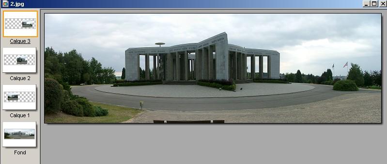 Créer un panorama avec Panorama Factory 410