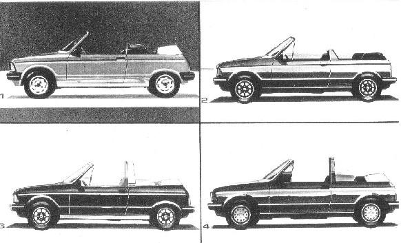 Dessin Samba Cabriolet Proto210
