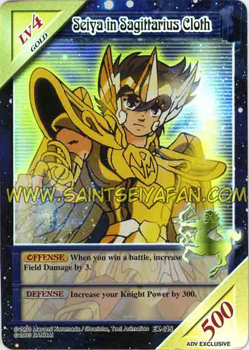 Knights of the Zodiac Cards Card10